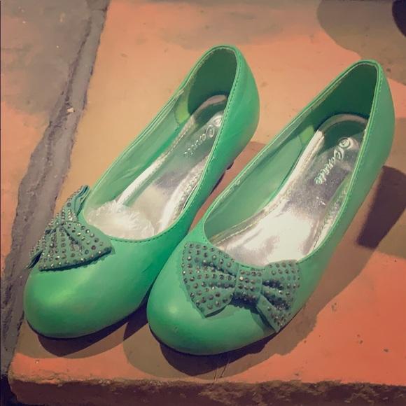 Shoes   Girls Green Dress   Poshmark